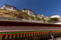 Lhasa is the capital of Tibet an autonomous region of China. This gallery is from the Potala Palace and minor other temples in Lhasa.