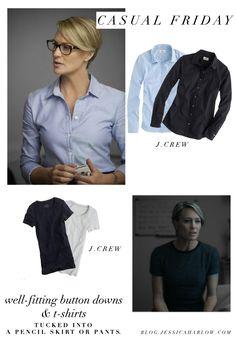 claire-underwood-wardrobe-clothes-button-down-shirt-dress-style.jpg (1000×1440)