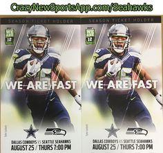 In case you haven't heard... You could WIN FREE TICKETS to see the Seahawks v Cowboys next week! Go to www.crazynewsportsapp.com/seahawks to win!! #freetickets #seattle #seahawks #cowboys #wenatchee #hawks #12thman