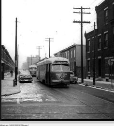 2nd and Mifflin Street in 1956