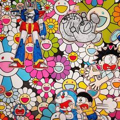 Doraemon exhibition in Roppongi Hills.