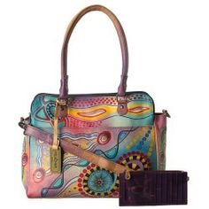 Review Anuschka Handbags - 521 (Tribal Sunset) - Bags and Luggage new - Zappos is proud to offer the Anuschka Handbags - 521 (Tribal Sunset) - Bags and Luggage: Show off this beautiful handbag designed in a colorful psychedelic hand painted print to compliment your trendy style.