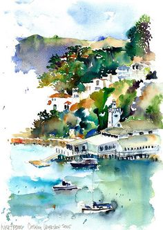 Charles Reid, American Watercolorist | Charles_Reid_results - The American Society of Architectural ...