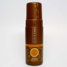 Body Drench QuickTan Self-Tanning Bronzer Mousse – 4.2 oz. - I buy a 3 pack on amazon to save on shipping. I use it twice a week. It's easy to use, not orange, and smells good. I will never use a tanning bed again!!