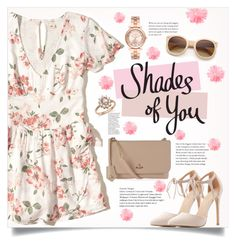 """In the spring: Romantic Date"" by keziatmrskasrf ❤ liked on Polyvore featuring Retrò, Charlotte Russe, Hollister Co., Vivienne Westwood, Michael Kors and Bloomingdale's"