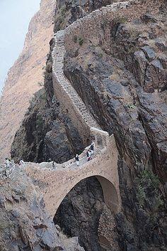 https://flic.kr/p/62yFvM   Shaharah bridge, Yemen