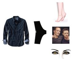 """#58"" by thewaterdemon ❤ liked on Polyvore featuring D&G and Banana Republic"