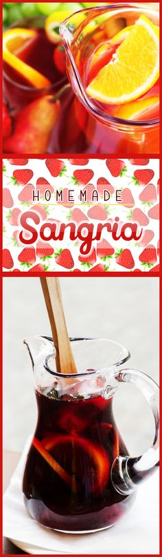 Seriously my favorite sangria ever, all thanks to one secret ingredient