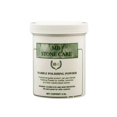 MB-11 Marble Polishing Powder and Etch Remover is a professional-grade product, yet user-friendly that enables you to polish marble like the Pros!