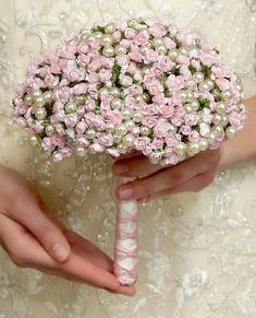 Beads and aperflower bouquet