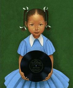 Mood Indigo by Kadir Nelson - There is a book about Duke Ellington that is illustrated by Kadir Nelson