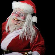 santa mask and costume