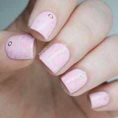 The Nailasaurus | UK Nail Art Blog: Pink Acid Wash Nail Art Inspired by Asos