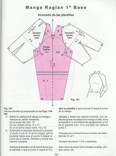 aprenda corte de ropa para niñas y adultas - Fernanda - Picasa Webalbums Techniques Couture, Sewing Techniques, Easy Sewing Patterns, Clothing Patterns, Pattern Cutting, Pattern Making, Sewing Hacks, Sewing Tutorials, Formation Couture