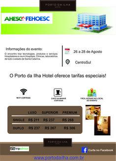 Começa amanhã mais um grande evento!!!! Aproveite!!! www.portodailha.com.br 48 3229 3000