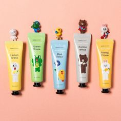 Line has collaborated with Korean cosmetics brand Missha to release a limited edition collection of makeup and skincare products. #KoreanBeautyTips Korean Cosmetic Brands, Lemon Flowers, Korean Products, Magical Makeup, Baking Soda Uses, Korean Skincare Routine, Missha, Sagging Skin, Makes You Beautiful