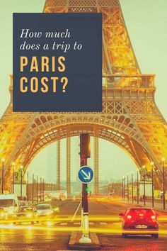 How Much Does a Trip to Paris Cost? We take a look at how much Americans can expect to pay for a trip to Paris, from budget to luxury. Travel Articles, Travel Info, Travel Plan, Flights To Paris, Paris Travel, Travel Europe, Family Destinations, Slow Travel, Paris Paris
