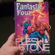 Re-read #CarlosPacheco's #FantasticFour run with #Flesh&Stone trade. Good stuff from this cool, albeit short, run. #Marvel