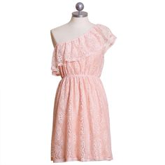 Baby Love One Shoulder Dress