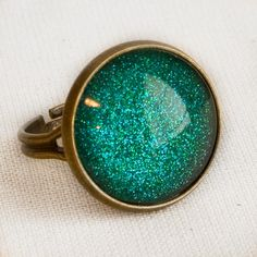 Mermaid Tears Ring in Antique Bronze  by EnchantdLookingGlass, $11.20