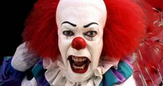 Pennywise's New Look Teased as IT Begins Shooting -- Director Andres Muschietti announces IT has begun production, with art hinting at an updated look for Pennywise. -- http://movieweb.com/it-movie-remake-production-start-pennywise-new-look-art/
