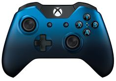 Compatible with Xbox One and Xbox One S. Compatible with Windows 10 via USB or the Xbox Wireless Adapter sold separately. *Equip yourself with the Xbox One Special Edition Dusk Shadow Wireless Controller, featuring a faded bl Playstation, Xbox 1, Xbox One S, Video Games Xbox, Video Game Memes, Xbox Games, Custom Xbox One Controller, Xbox Controller, Windows 10