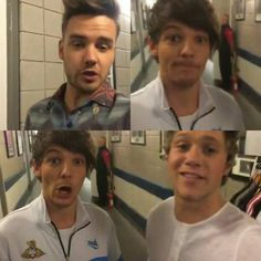 The boys on One Direction's snapchat xx