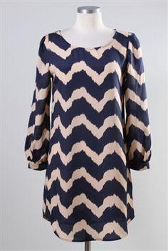 Wave on Wave Dress - $38