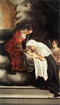 Artemisia Gentileschi Paintings, Pisa, Orazio Gentileschi, Madonna And Child, Sale Poster, Heritage Image, Monet, Giclee Print, Poster Prints