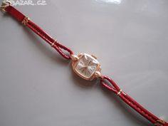 Dámské zlaté náramkové hodinky Luch/Luč, ruské/sovětské výroby, - obrázek číslo 9 Omega Seamaster Automatic, Clocks, Watches, Retro, Vintage, Wristwatches, Vintage Comics, Clock