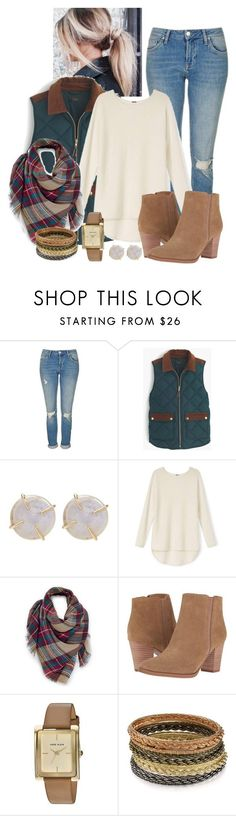 """Beautiful Mess"" by madison-ashley-0203 ❤ liked on Polyvore featuring Topshop, J.Crew, Melissa Joy Manning, Venus, Franco Sarto, Anne Klein and Kendra Scott"