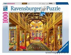 Ravensburger Jigsaw Puzzle 1000 Piece Library Picture Fun Game Toy Kids Adult #Ravensburger