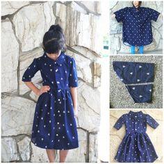 Cómo convertir camisas viejas en vestidos de niña