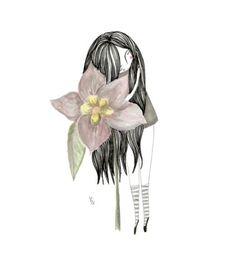 Loving flower girl by Laura Barocio