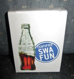 2007 SOUTHWEST AIRLINES COCA COLA CERTIFIED SWA FUN DECK PLAYING CARDS SEALED