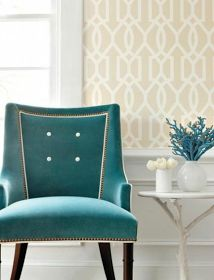 classic • casual • home: Beautiful Designs at Thibaut and Anna French