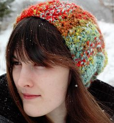 Mandelbrot Hat-i'm going to learn how to knit. like this week.