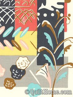 Charleston Farmhouse PWFM032-Parchment Fabric by Felicity Miller