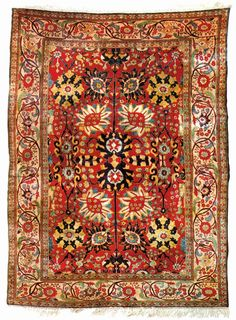 Very Rare Persian Carpet Worth Well Over 50,000$
