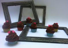 Mini cupcake al cioccolato gianduia