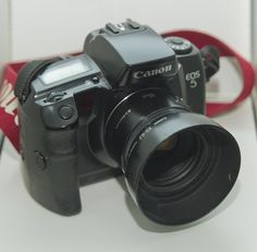 My Canon EOS 5 35mm with 50mm lens