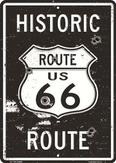 More than sellers offering you a vibrant collection of fashion, collectibles, home decor, and more. Route 66 Sign, Old Route 66, Historic Route 66, Old Garage, Garage Art, Garage Signs, Parking Signs, Dessin Old School, Vintage Metal Signs
