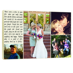 Gift for parents  personalized photo gift! Just Married? A sweet gift for your parents - I promise they will LOVE it!