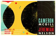 Cameron McGill & Jeremiah Nelson Gig Poster (by EFG!)
