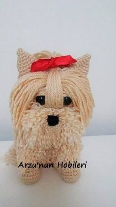 Amigurumi Yorkie Tutorial Pattern Novice Sandy on Knitting Paradisefound this absolutely adorable pattern for an Amigurumi Yorkie. The only problem is the pattern is incomprehensible. I think it was originally written in Japanese and the translation is really bad. Fortunately, I have crocheted some amigurumi patterns using the Japanese chart method so I get what's …