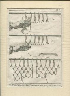 Jagd mit Fischnetzen Fischerei - Kupferstich Filets de Peche , de Chasse Pl 4