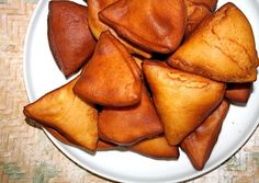 """How to Make Mandazi - an African - Nancy Kelly - How to Make Mandazi - an African How to Make Mandazi - an African """"Donut"""" : 4 Steps - Instructables - Donut Recipes, Vegan Recipes, Snack Recipes, Snacks, Detox Recipes, Vegan Meals, How To Make Mandazi, Mandazi Recipe, Tanzania Food"""