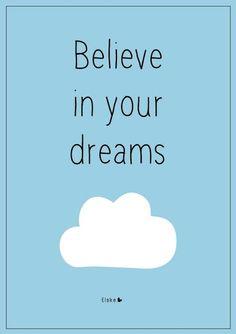 Buenos días, es hora de creer en algo ...