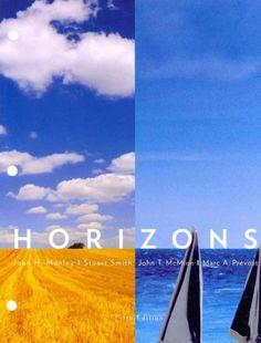 Horizons / Joan H. Manley ... [et al.]