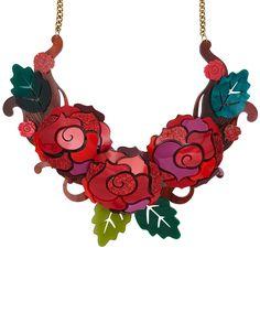 Original Jewellery Handmade in the UK Devine Design, Classic Fairy Tales, Enchanted Rose, Tatty Devine, Jewelry Art, Jewellery, Acrylic Art, Swirls, Stitch Fix